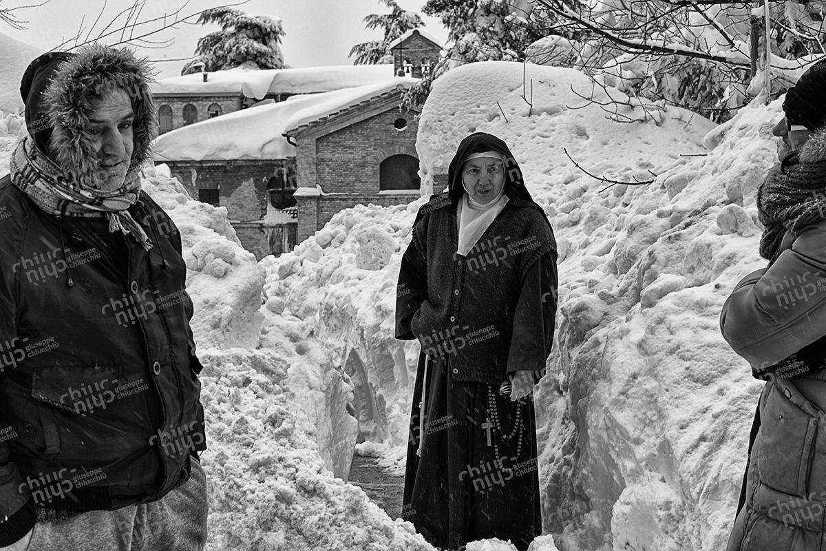 Italy - Urbino a Cloistered Nun
