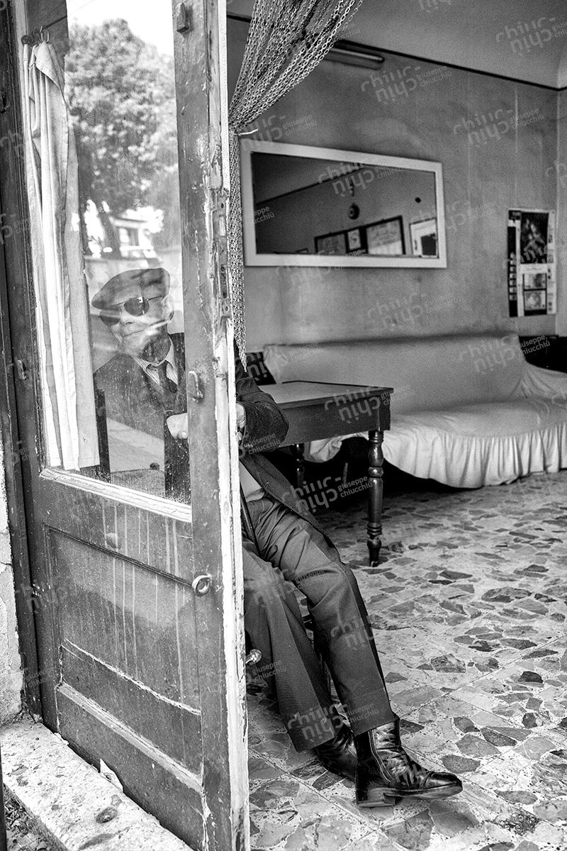 Italy - Elderly club del Padrino, Corleone Sicily