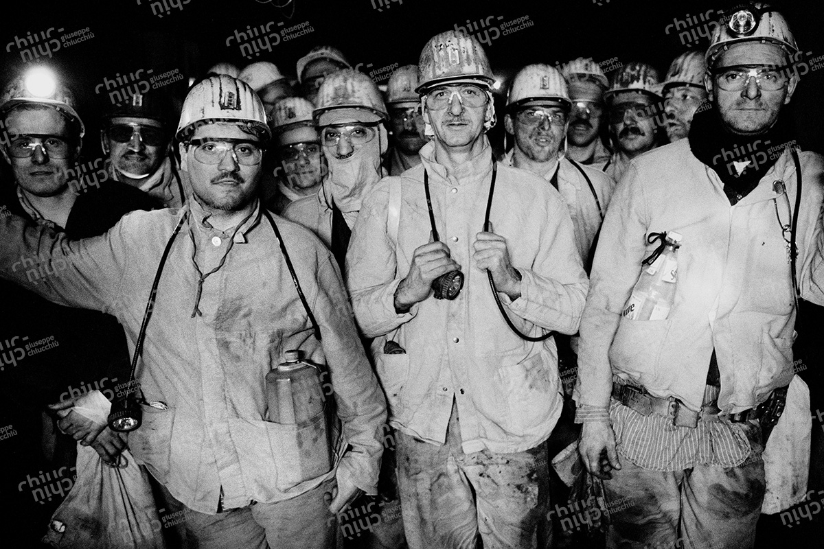 Germany - Miners in the Ruhr