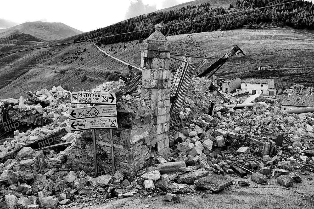 Italy - Castelluccio di Norcia Earthquake
