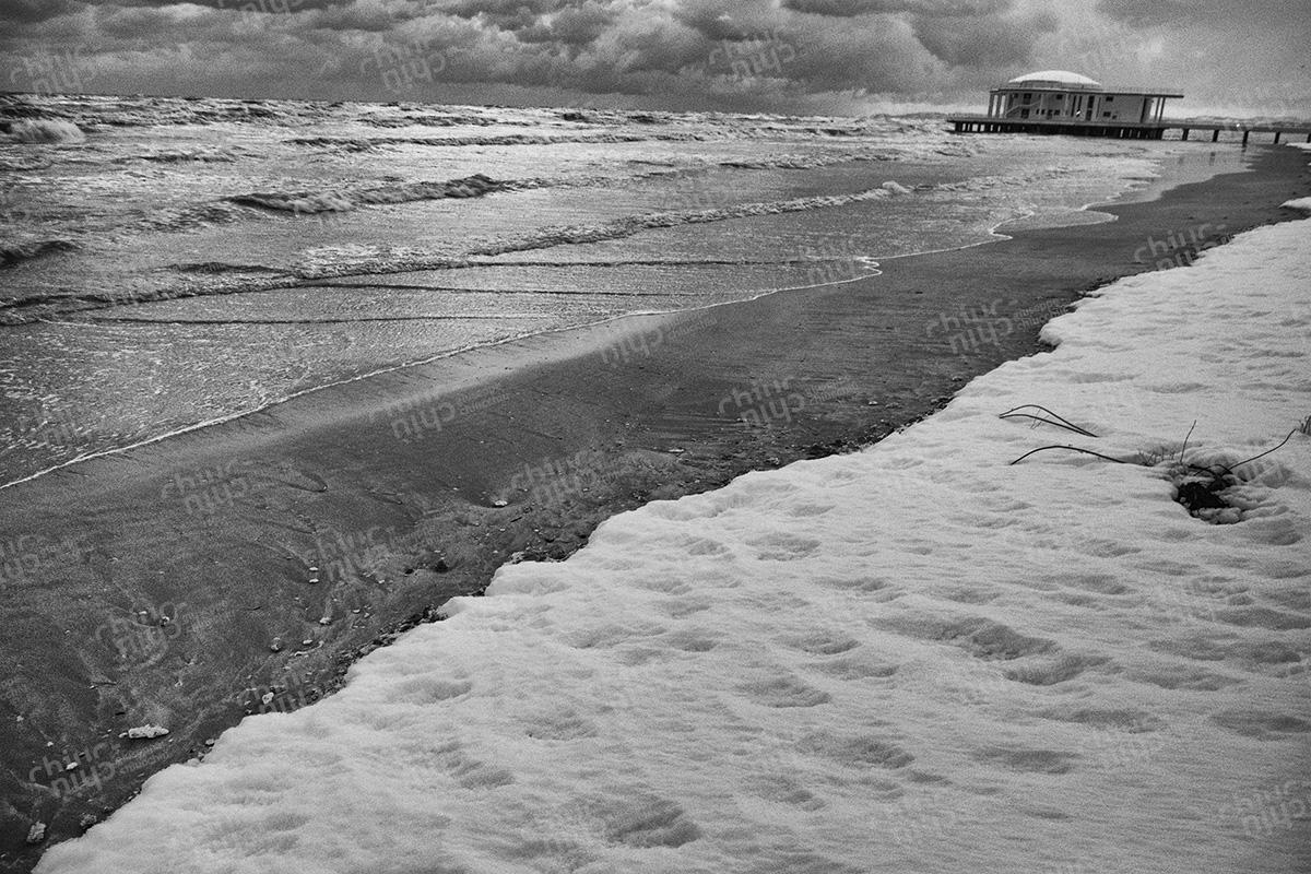 Itally - Winter sea Senigallia