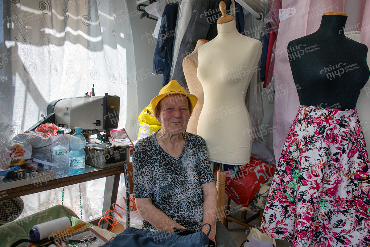 Italy - Countryside local seamstress