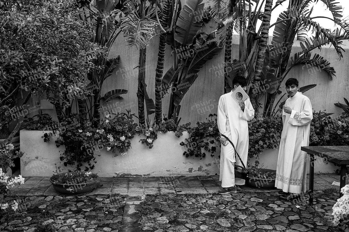 Italy - Cagliari altar boys
