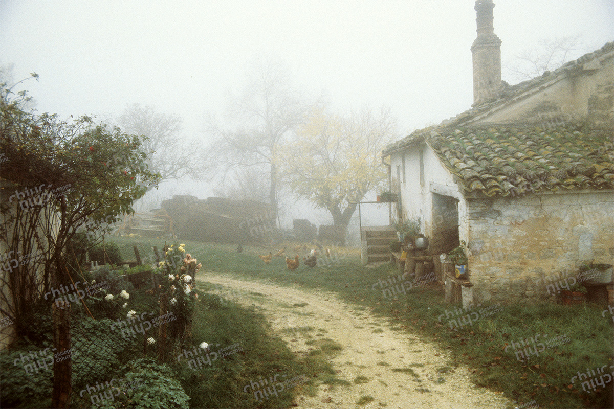 Italy - Country house courtyard
