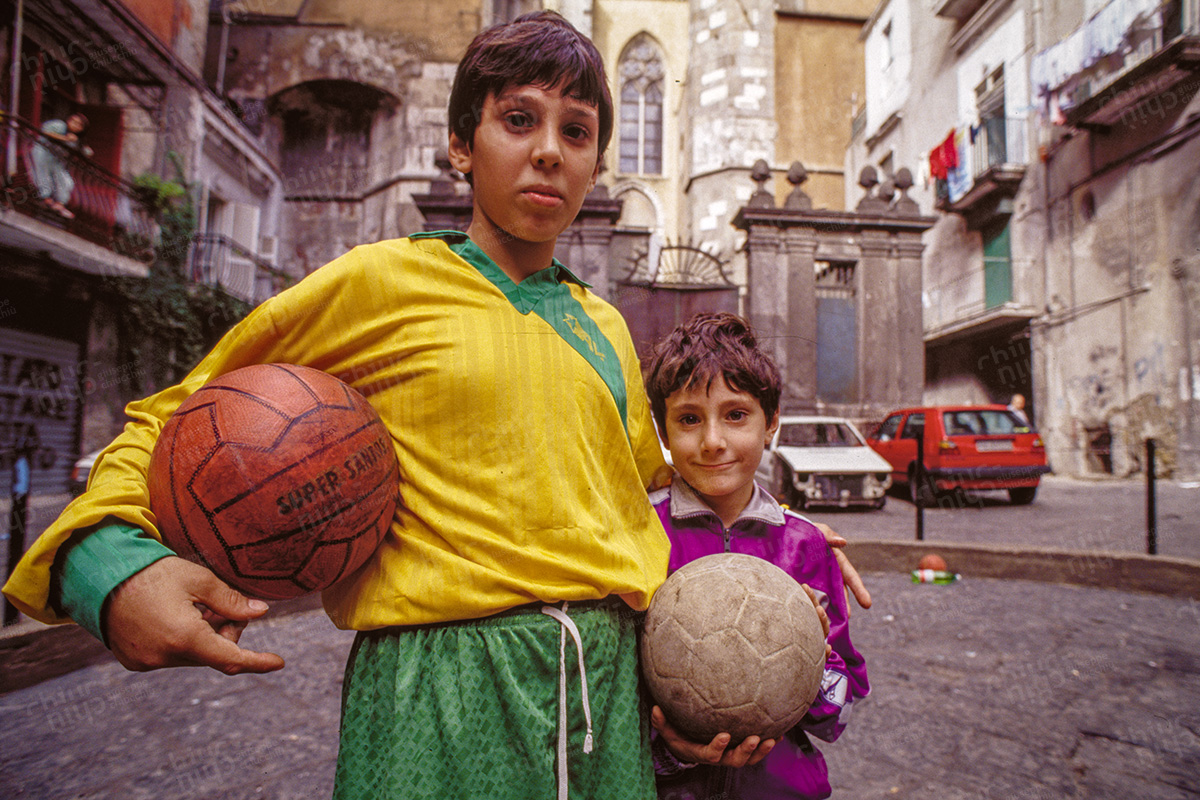 Italy - The children of Naples remember Diego Armando Maradona
