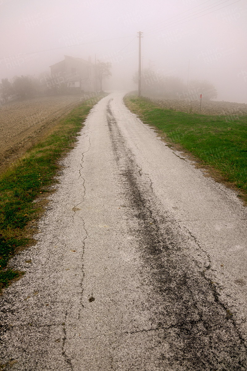Italy - Fog in the Marche