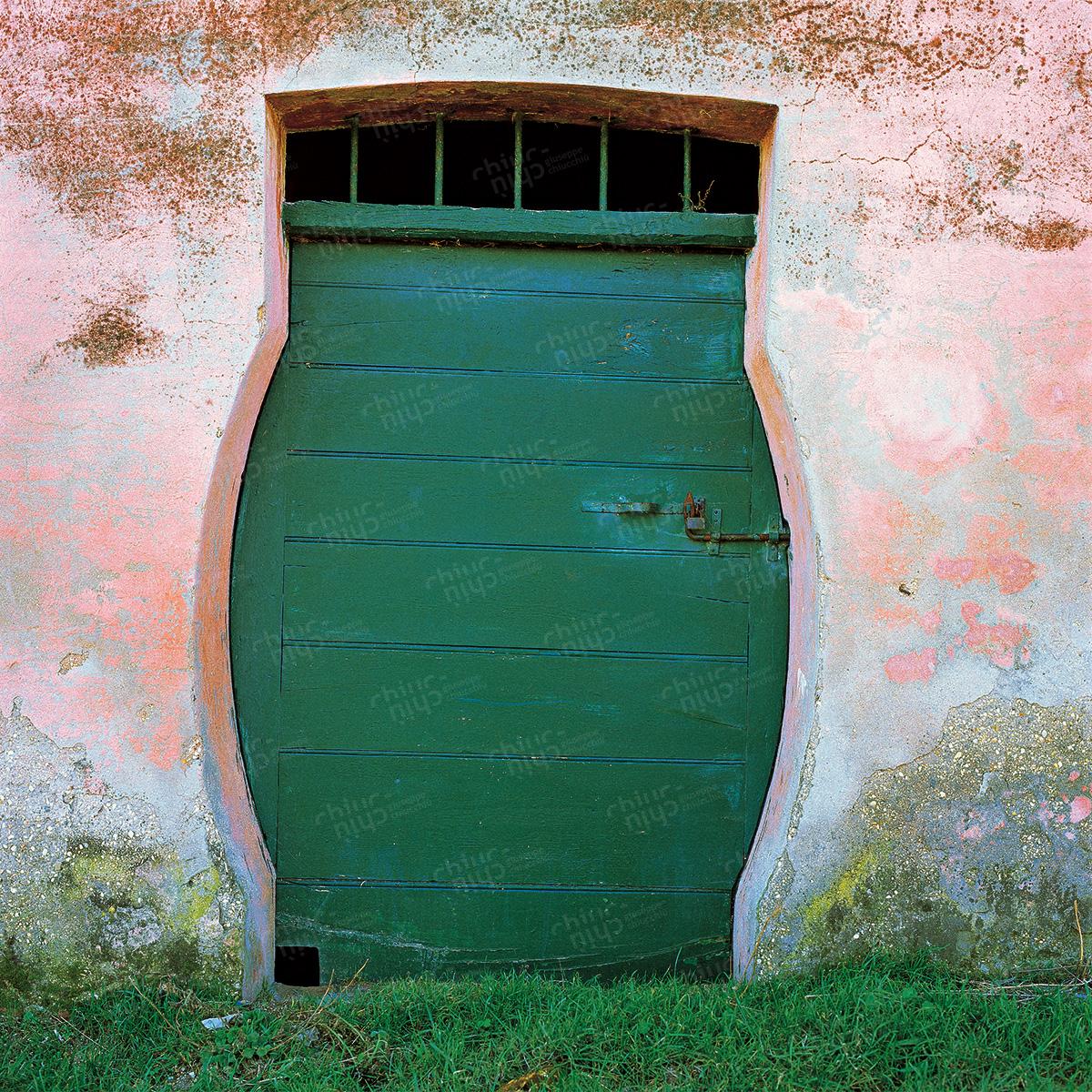 Italy - Door leading to the wine
