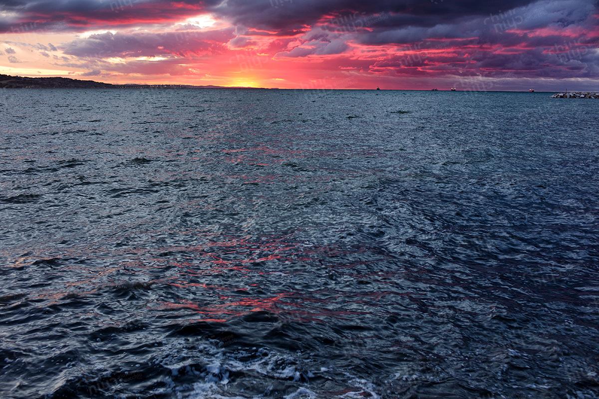 Italy - Ancona at sunset