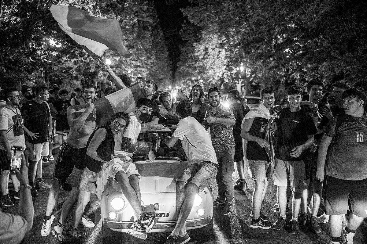 Uefa euro 2020, Tifosi Italiani - Italian fans